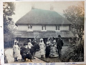 William Barnes and Family Came Rectory 1882 © Dorset County Museum