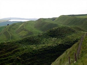 The Ramparts at Maiden Castle
