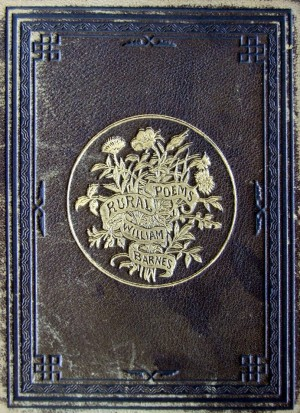 Book Cover designed by Hammatt Billings, engraved by W. J. Peirce, Rural Poems by William Barnes, published by Boston, Robert Brothers 1869