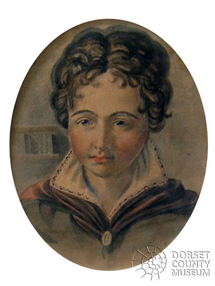 A self-portrait of William Barnes as a boy