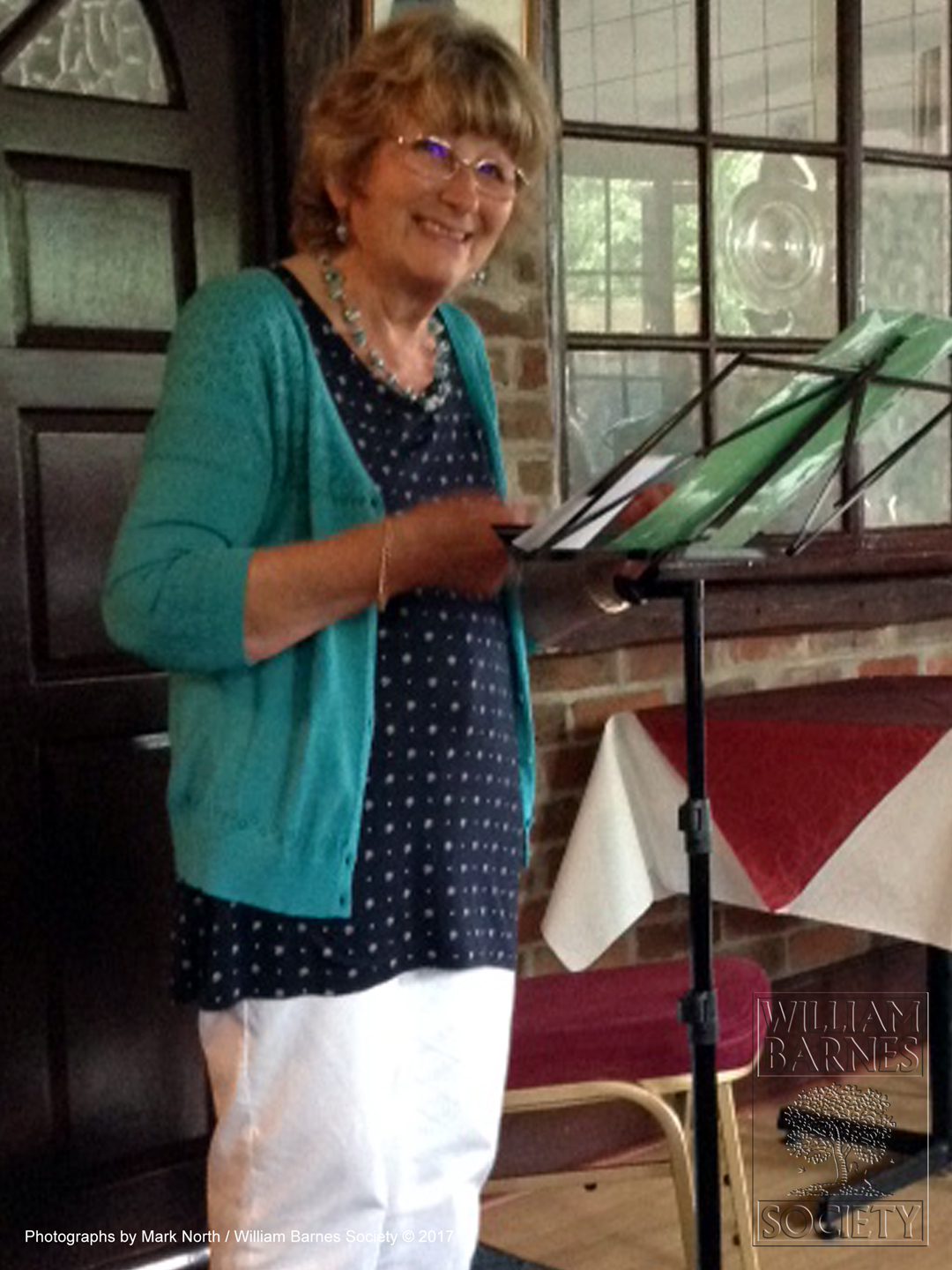 Marion Tait, reads 'Solace of the Fields' by William Barnes