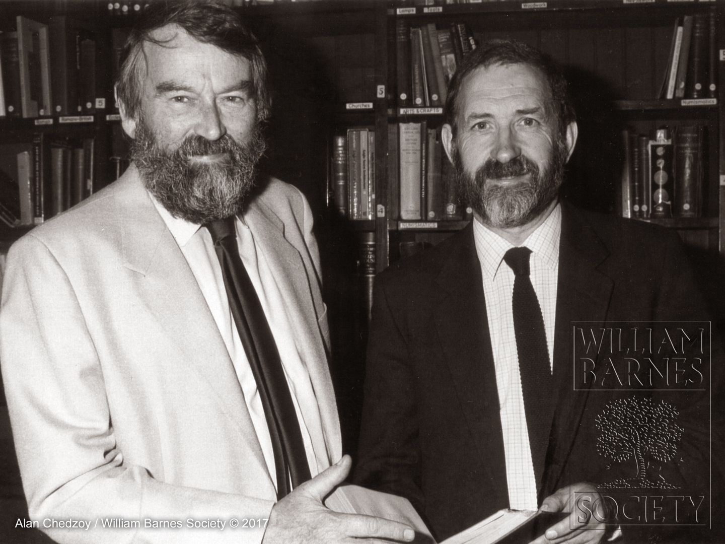 John Fowles and Alan Chedzoy