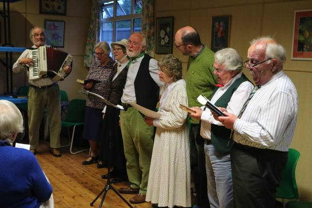 Members of the William Barnes Society at the Sherborne Literary Festival